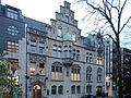 Haus Inselstrasse 16 und 17 in Duesseldorf-Pempelfort, von Suedwesten.jpg