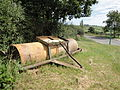Havenstreet Main Road old farm equipment.JPG