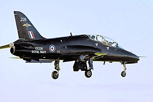 736 Naval Air Squadron - Hawk T.1 of the Royal Navy