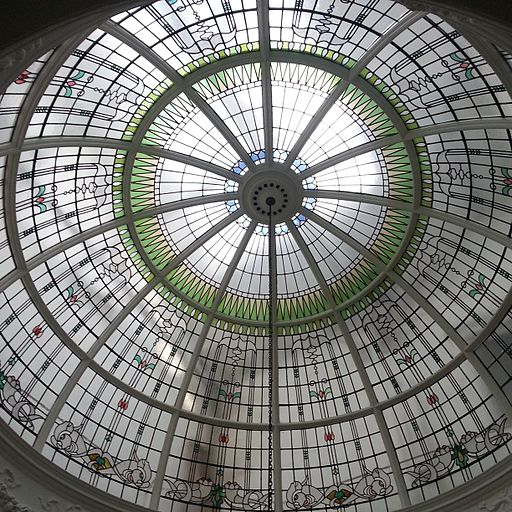 Hawksley House glass dome