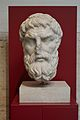 Head of Epicurus in Palazzo Massimo alle Terme (Rome).JPG