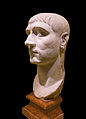 Head of Maxentius from Dresden Colosseum Rome Italy.jpg
