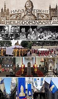 Pilgrimage of the Relics, Maastricht
