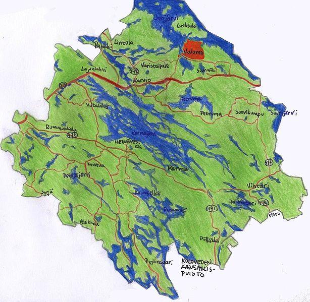 File Heinavesi Map Valamo Jpg Wikimedia Commons
