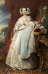 Hélène-Louise, princesse de Mecklenbourg, duchesse d'Orléans (1814-1858)