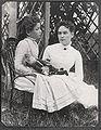 Hellen Keller holding doll with Ann Sullivan 1888.jpg