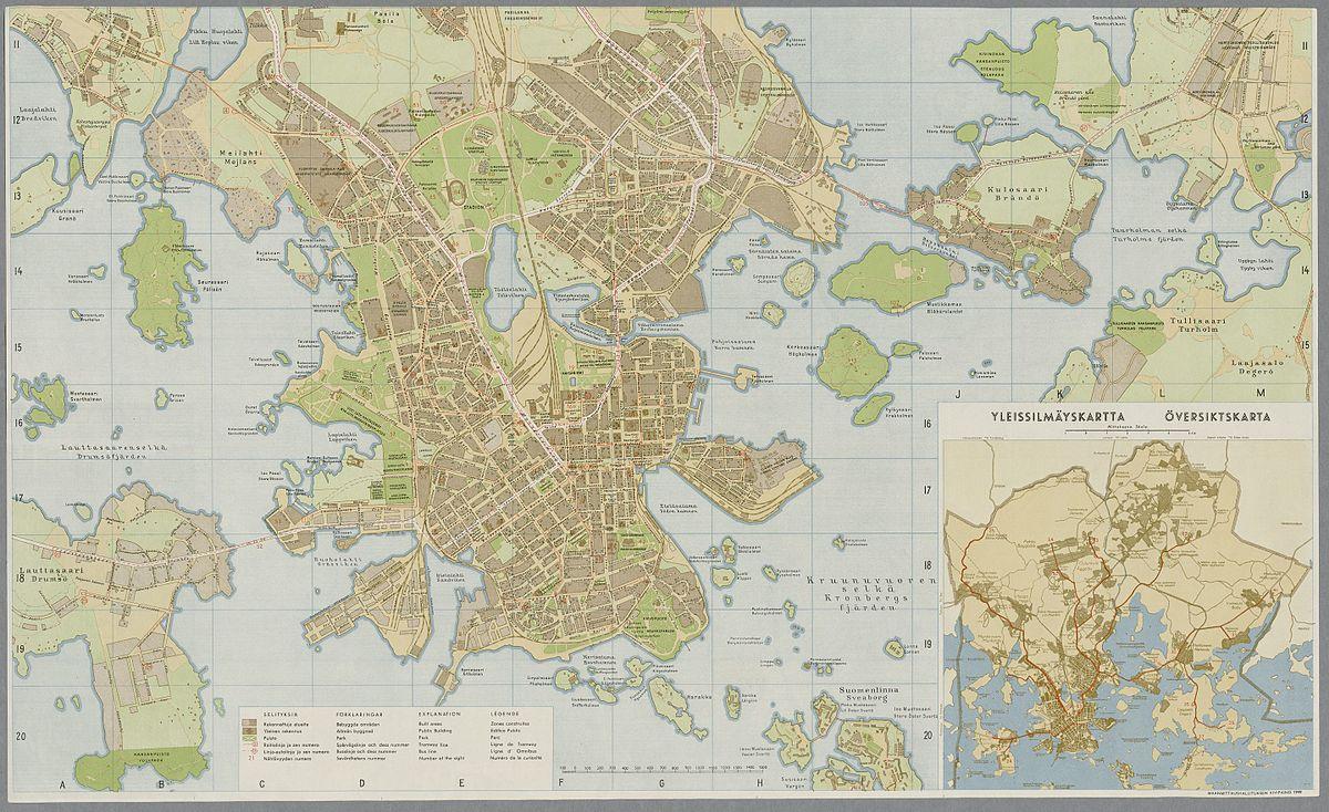 File Helsingin Matkailijakartta 1949 Jpg Wikimedia Commons