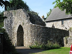 Hemyock - Remains of Hemyock Castle