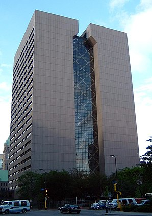 Das Hennepin County Government Center in Minneapolis