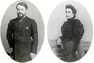 Henri Matisse - Henri and Amélie Matisse, 1898