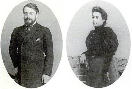 Henri + Amélie Matisse Portrait 1898
