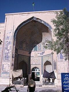 Shrine of Khwaja Abd Allah