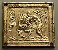Hercules and the Nemean Lion, Galeazzo Mondella (Moderno), late 15th to mid 16th century AD, gilt bronze - Bode-Museum - DSC02506.JPG