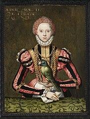 Portrait of Ermengard von Rietberg