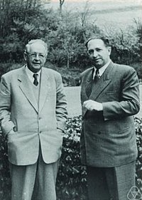 Hermann Weyl, Ernst Peschl.jpg