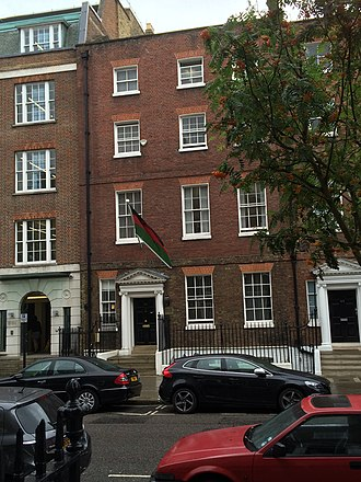 High Commission of Malawi, London - Image: High Commission of Malawi, London in 2016