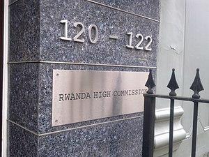 High Commission of Rwanda, London - Image: High Commission of Rwanda in London 3