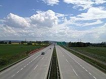 Highway D55 (Czech Republic) on 16th kilometr to the south.jpg