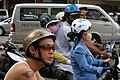 Ho Chi Minh City, Vietnam, Motorbike riders.jpg