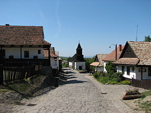 Hollókő village