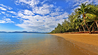 Holloways Beach, Queensland Suburb of Cairns, Queensland, Australia