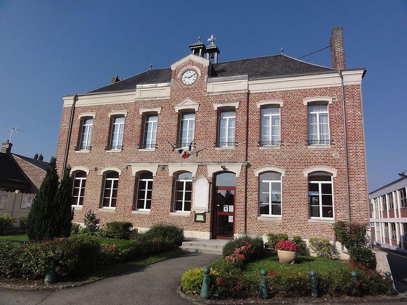 Homblières (Aisne) mairie