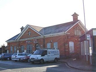 Horley railway station - Image: Horley station