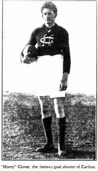 Horrie Clover - Clover in 1922