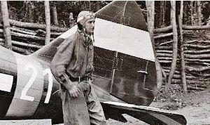 MÁVAG Héja - István Horthy with his Héja, 1942