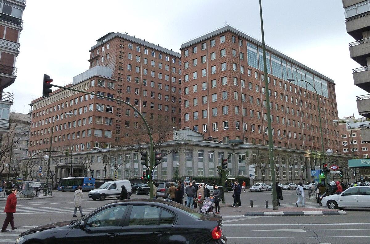 Hospital de la princesa wikipedia la enciclopedia libre for Direccion madrid espana