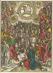 The hymn in adoration of the lamb