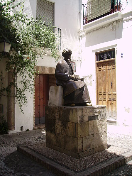 House & Sculpture Of Maimonides In Cordoba, Spain (His Birthplace)