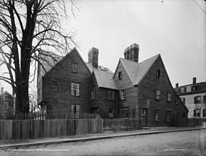 House of the Seven Gables - Same view in 1915