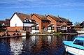 Houses on the River Bure - geograph.org.uk - 2254056.jpg