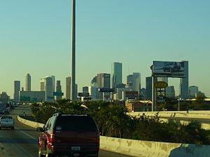 Paris, Texas (film) - The protagonists travel to Houston.