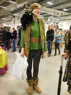 How to train a dragon cosplay at the Sci-Fi-fair in Malmö 2014.jpg