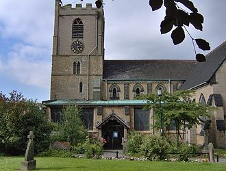 Hucknall - St. Mary Magdalene church is the final resting place of Lord Byron and his daughter, Ada Lovelace.