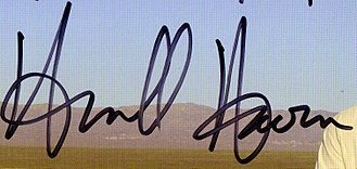 Huell Howser - Image: Huell Howser signature