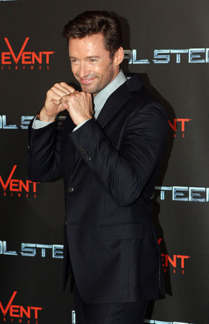 English: Hugh Jackman at the Sydney premiere o...