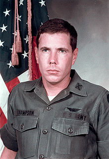Hugh Thompson Jr. United States helicopter pilot during the Vietnam War