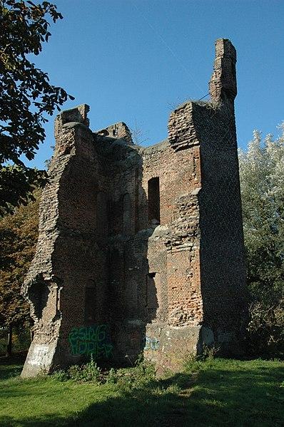 Toch weer een oudere ruïne gevonden: Huis te Merwede