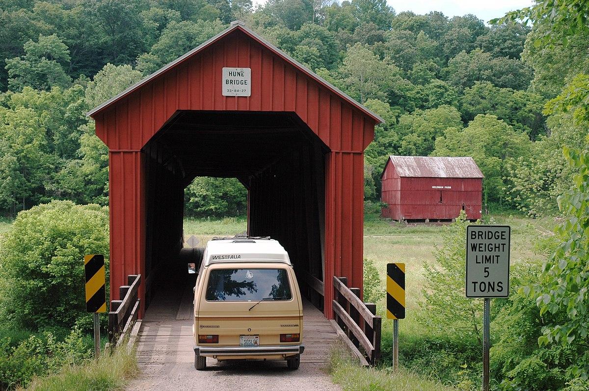 Hune Covered Bridge Wikipedia