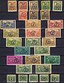 Hungary 1919 Debrecen stamps.jpg