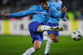Netherlands national under-21 football team - Huntelaar was the Golden Player and Top Scorer at the 2006 UEFA U-21 Championship and he is the all-time top scorer for Jong Orange.