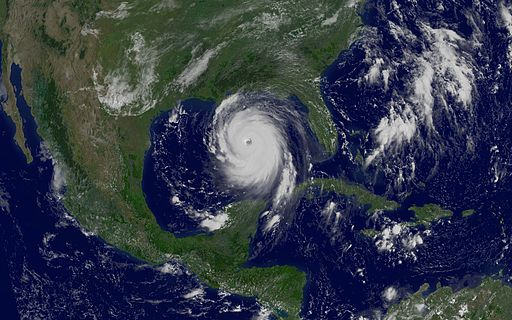 Hurricane Katrina GOES August 29