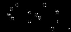 Strukturformel Hyaluronansäure