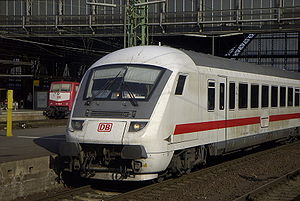 InterCity - DB InterCity cab car in Bremen Hbf