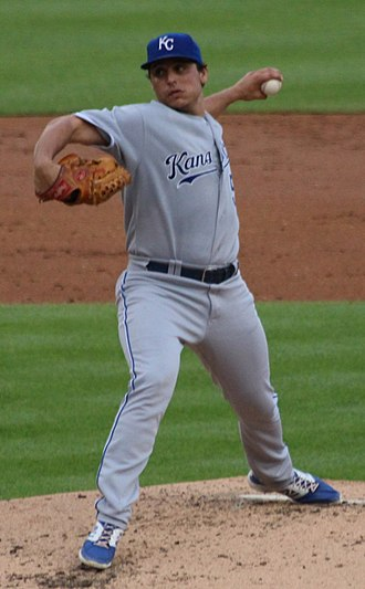 Jason Vargas - Vargas with the Kansas City Royals