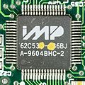 IMP 62C538-136BJ on mainboard of Iomega ZIP-100, parallel port printer pass-through-7819.jpg