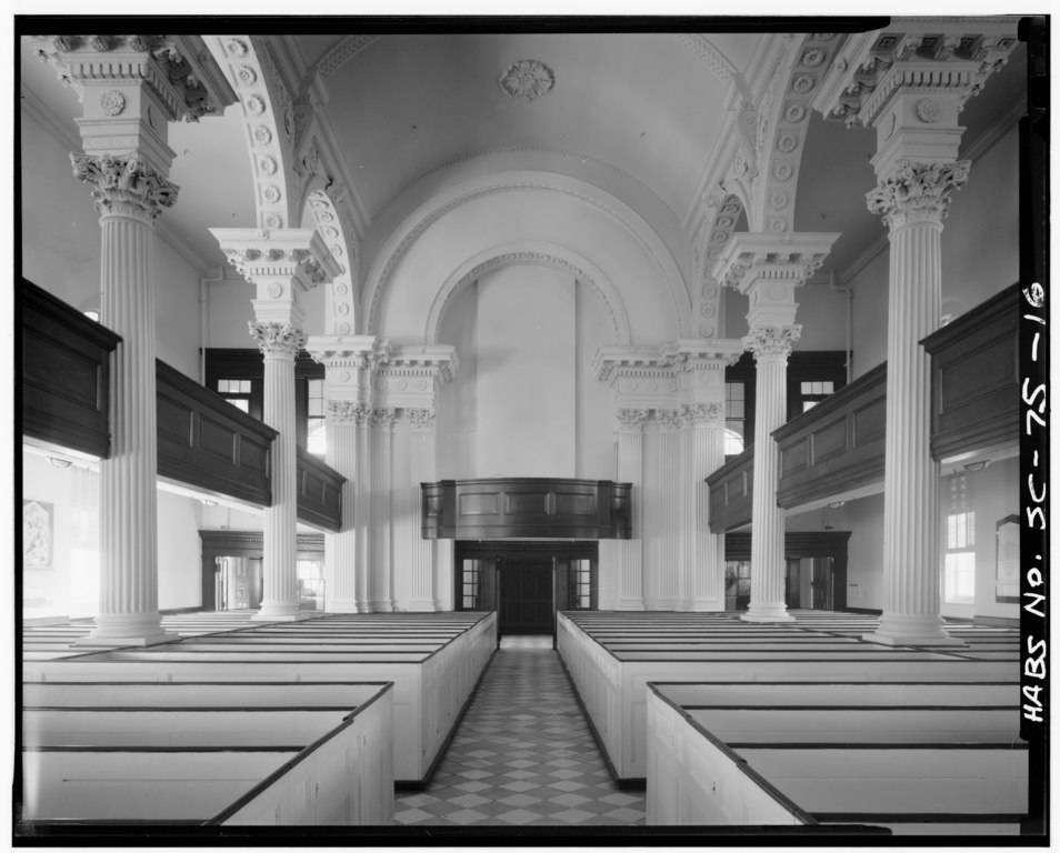 File Interior Looking West St Philip 39 S Protestant Episcopal Church 146 Church Street